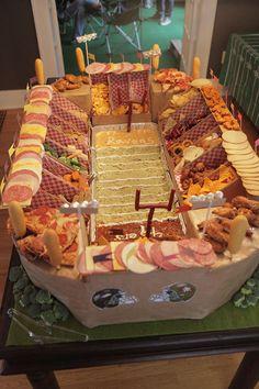 Ultimate Super Bowl Snack Stadium
