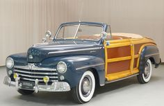 1947 Ford Sportsman Woodie Convertible