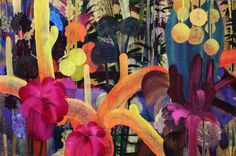 Painting | Patternbank - Print, Pattern + Graphics Inspiration artists, exhibitions, orlando bloom, acrylics, orlanda broom, graphics, citi limit, print patterns, cacti citi