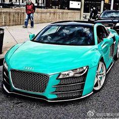 Dream Car ♥♥ turquoise audi r8