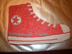 Converse cake--made it :)