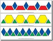 Printable pattern cards