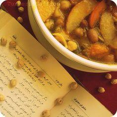 Turmeric and Saffron: Ash-e Miveh - Fresh Fruit Soup