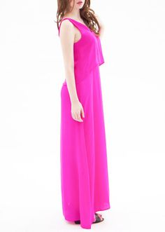 Lillooet Silk Maxi Dress - Schiaparelli $325 Made in Canada