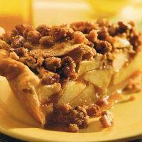 Apple Streusel Pie - Diabetic Friendly Recipe