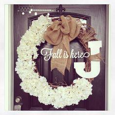 {fall wreath}