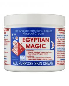 Egyptian Magic balm - Take a small amount and rub in your hands until it takes the form of oil and apply it gently to your skin or hair. It can be used as face cream, eye cream, neck cream, foundation base, on hands, arms, body, legs, and as an after shave moisturizer to prevent cracks and itches. It is excellent on burns, minor cuts, eczema, psoriasis, diaper rash, Feet Saviors etc.