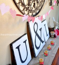 DIY #Valentine Paper #Heart Garland on iheartnaptime.com ...super cute and easy!