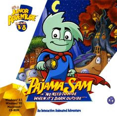 I would kill to play this game again... Pajama Sam!