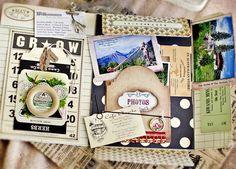 Travel Portfolio Scrapbook (7Gypsies portfolio)