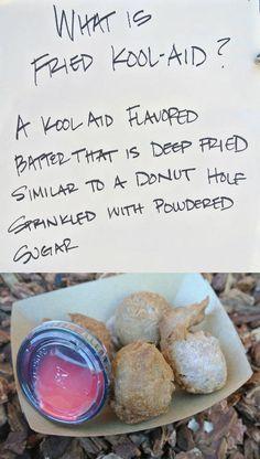 Deep fried kool aid