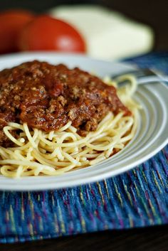 Incredible Homemade Spaghetti Sauce