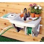 outdoor sink...