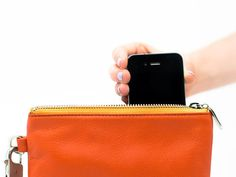 Charging Clutch / Everpurse {a bag that charges your phone? yes please!}