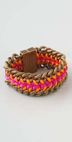 neon wrist candy (i must make this one!)