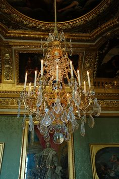 The Green Room at Versailles