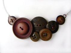 Button Necklace $24