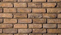 Faux brick wall