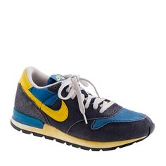 Nike® For J.Crew Vintage Collection Air Epic Sneakers...these are the kind of vintage tennis shoes I was talking about.  Pretty cool