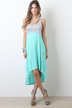 Party Block Maxi Dress mint $18.40---thanks Ashley this website is awesome!!