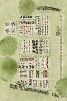woolf garden, vegetables garden, veget garden
