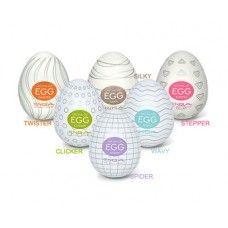 Tenga Eggs - All 6 variants pack | Male hygiene Tenga egg sex toys in India | Buy on Sexpiration.com