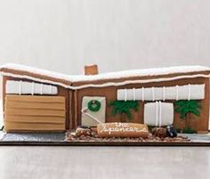 Gingerbread house in Mid-Century Modern style! Next year at the Lunenburg contest?