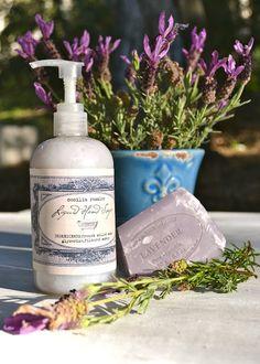 Homemade Liquid Lavender Handsoap ceciliarosslee.bl...