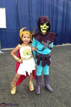 She-Ra and Skeletor Homemade Costumes