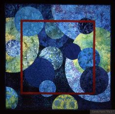 """""""Edge of the World"""" © Candy Flynn at Art Quilters"""
