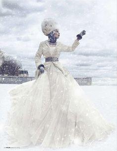fashion shoot snow - Google Search