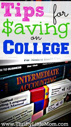 Tips for Saving On College- From books to food plans to housing costs, a current student shares ways that she saves big while going to college.