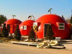 Tomato cottages!