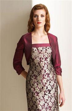 3/4-length Sleeve Taffeta #Bolero & #Shawls Style Code: 06777 $31