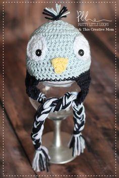 Baby Blue Bird Hat ~ free pattern