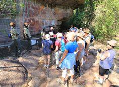 Njanjma Rangers at Ubirr   Kakadu National Park