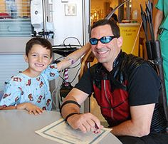 Superheroes took a break from their crime-stopping schedule to visit UC Davis Children's Hospital. The special visit was made possible through the UC Davis Child Life and Creative Arts Therapy Department and the West Coast Avengers.
