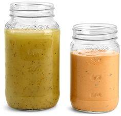 Clear Glass Mason Jars (Bulk),
