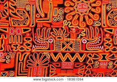 Beautiful blanket with a typical Peruvian design