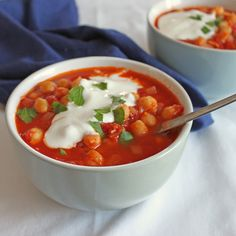 Chickpea and Tomato Stew