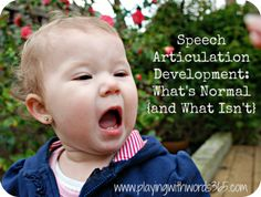 Speech Articulation Development: As a teacher, you will need to know some general information about articulation development, like what speech sounds are developed by what age. This post explains this and includes some easy to read charts as well.