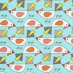 Mark Hordyszynski - Birds of a Feather - Tweet in Aqua