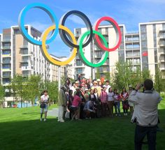 After the Team Welcome Ceremony with guests. london olymp, olymp 2012