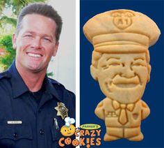 Swearing In New Chief - Law Enforcement - Honoring - Celebrations - Custom Cookies #SwearingIn #LawEnforcement #Gifts #Custom #Cookies #Surprises #Honors