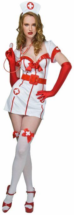 Flirty Nurse Adult Costume,$29.99