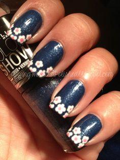 Floral Design Nail Tips