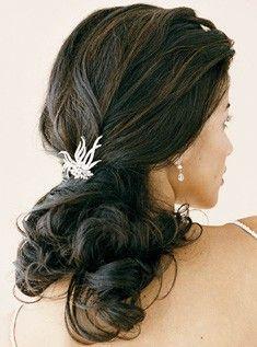 Wedding Half Up and Half Down Hair Ideas #wedding #hair #hairpiece