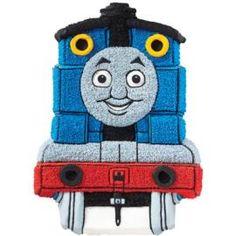 How to make a Thomas the Tank Engine Cake.