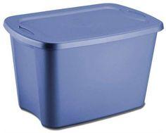 Plastic Storage Box (set of 4) 30 gallons (Lapis) (32 3/8 L x 19 3/4 W x 17 1/8 H) by Sterilite, http://www.amazon.com/dp/B000AEF52O/ref=cm_sw_r_pi_dp_LQLPrb0Q5THTA $84.99