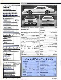 1981 Chrysler Imperial: Car & Driver